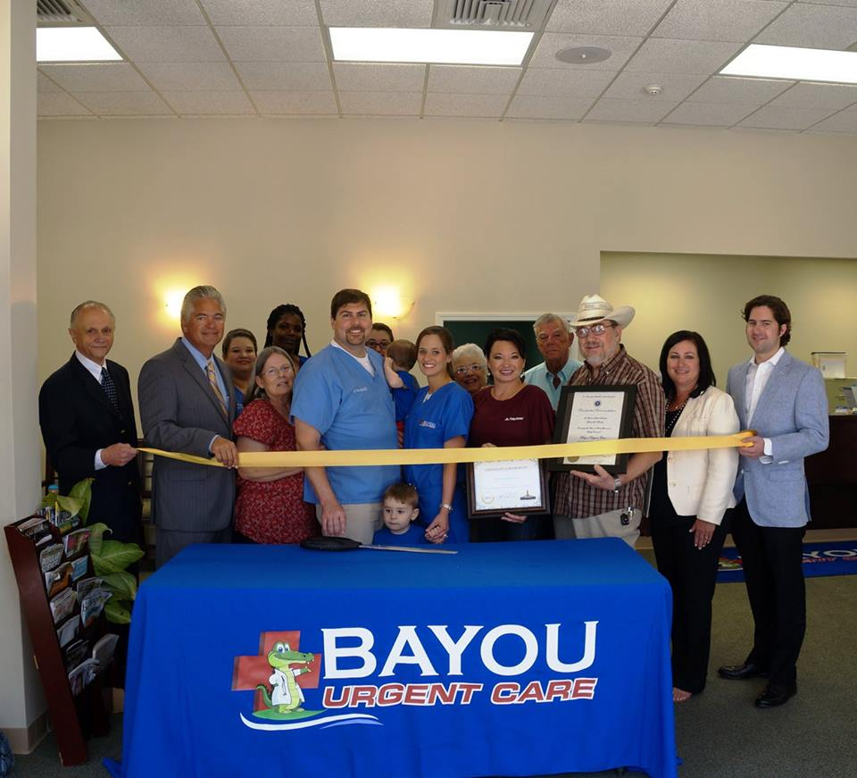 Bayou Urgent Care, St. Bernard, St. Bernard Economic Development Foundation, SBEDF, Andrew Jacques, New Orleans, Economic Development